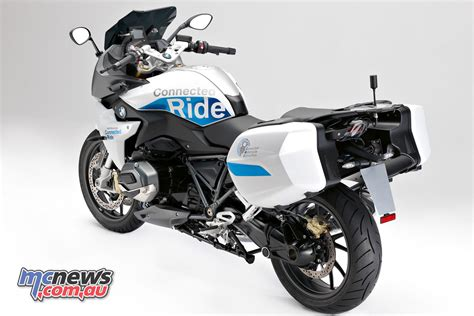 Bmw Motorrad R 1200 Rs Zubehör by Bmw R 1200 Rs Connectedride Prototype Mcnews Au