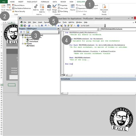 how to unhide worksheet unhide all and sheets in excel professor excel