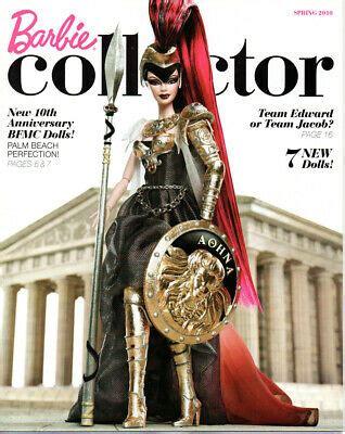 barbie collector catalog collection book ad magazine athena spring  ebay