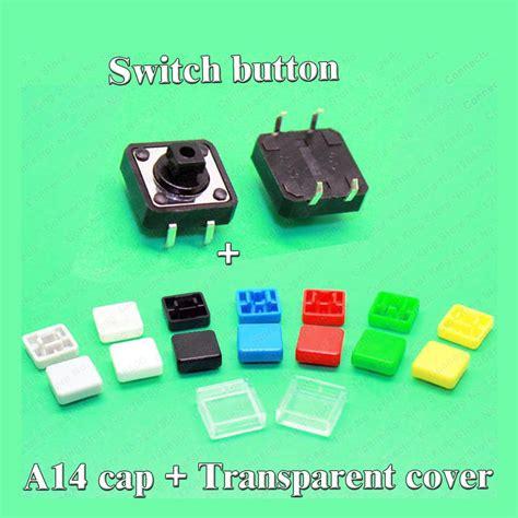 Tactile Switch Push Button 12x12x73mm Free Cap aliexpress buy sle 100 sets a14 tactile push