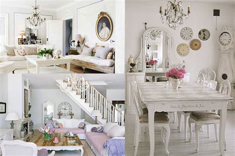 inspiring interiors showcasing shabby chic style design in vogue