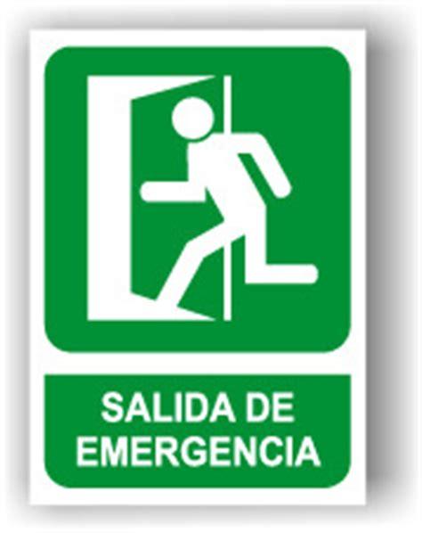 placas de salida de emergencia en mexico se 241 al cartel rotulo salida de emergencia see0002