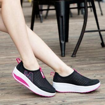 Size 40 Sepatu Keiza harga wedges sepatu kets wedges m jala jaring murah