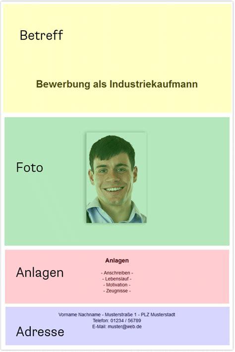 Anlagen Im Anschreiben Oder Deckblatt Deckblatt Aufbau Foto Anlagen Adresse