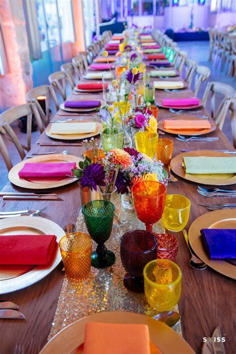25  Best Ideas about Bright Color Wedding on Pinterest