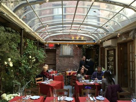 Restaurants With Gardens Nyc by The Covered Garden Inside Palma Restaurant Picture Of