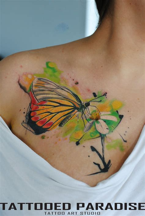 tattoo butterfly watercolor watercolor tattoo butterfly by dopeindulgence on deviantart