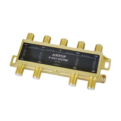 Splitter Tv Made Taiwan8 Way cabled 4 way power supply splitter 6401403905 the home depot