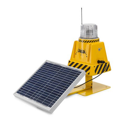 solar powered runway lights airport solar and portable airfield lighting solutions 4ga