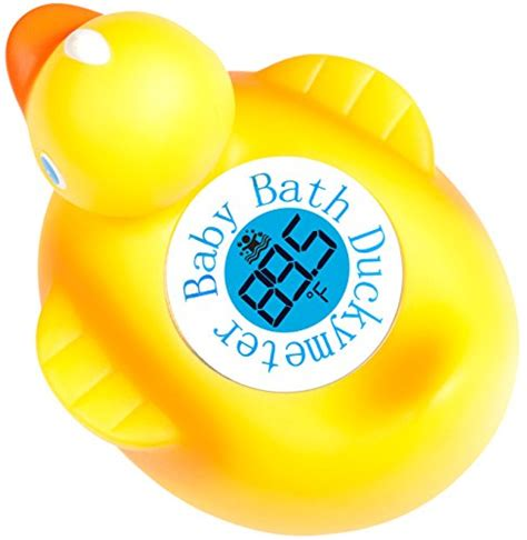 thermom鑼re 駘ectronique cuisine duckymeter the baby bath floating duck and bath tub