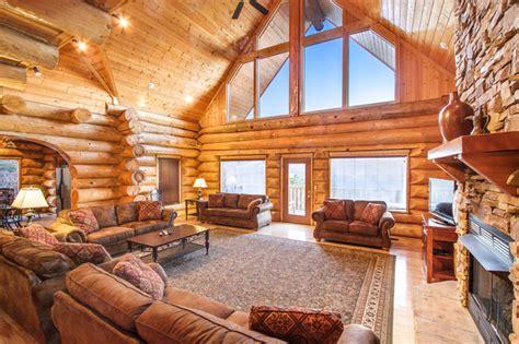 Log Cabin Living Room Furniture Stony Brook Lodging Showcases Gatlinburg Honeymoon Cabins For 2014 Wedding Season