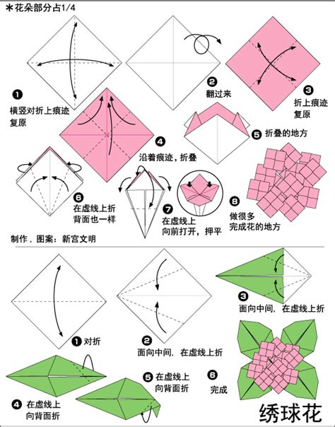 origami hydrangea search results for origami pic calendar 2015