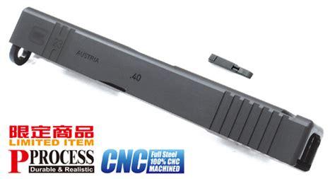 Barracks Airsoft Guarder Magazine Catch For Ksc Glock guarder steel cnc slide for kj work g23 custom black airsoft tiger111hk area