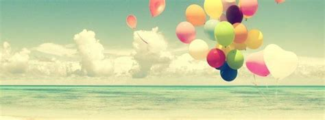 imagenes alegres para portada de facebook globos en la playa portadas para facebook portadas para