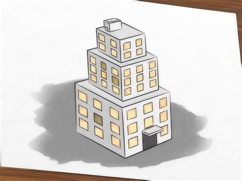 3d building drawing how to draw buildings 5 steps with pictures wikihow