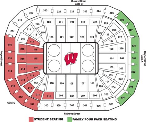 wisconsin student section university of wisconsin online ticket office seating