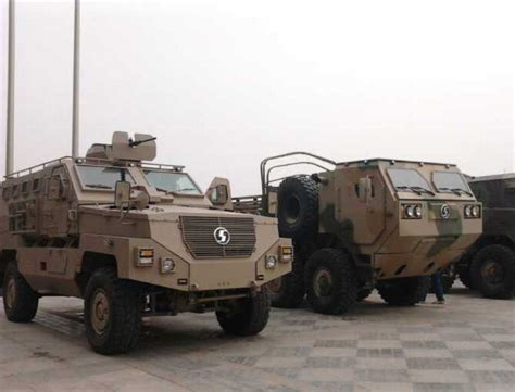 military vehicles new ambush protected vehicles for peoples liberation army