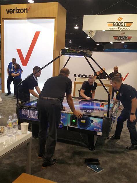 4 Way Air Hockey Table by Galaxy Four Way Air Hockey Table Arcade