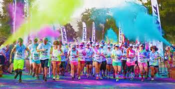 color run color vibe 5k run flint