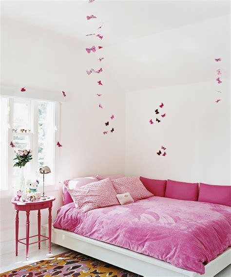 Estanterias Para Habitacion Nina #2: Habitacion-nina-mariposas-pared-decorativas.jpg
