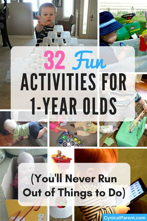 Give Me Ideas And I Quot Ll Give You A Shoutout - 32 activities for 1 year olds you ll never run out of