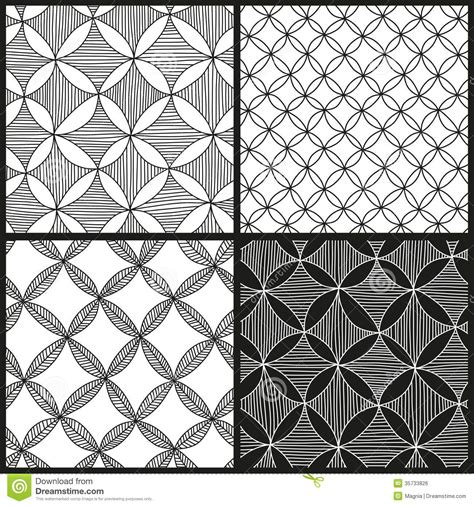 abstract pattern to draw abstract patterns set royalty free stock image image