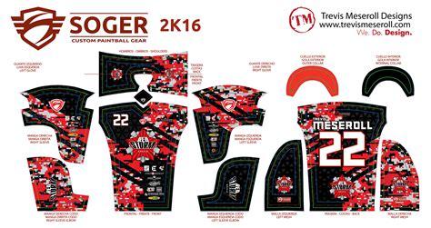 design jersey paintball paintball trevis meseroll designs