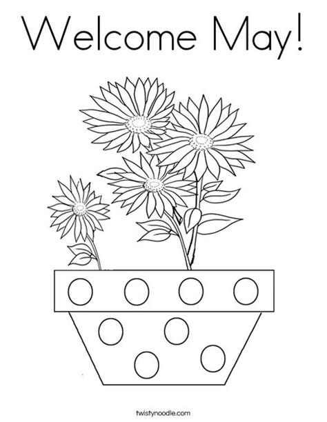 printable coloring pages for may welcome may coloring page twisty noodle