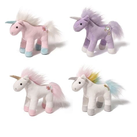 Boneka Unicorn Chatters Magical Sound Plush 6 Inch Gund gund 6 inch unicorn chatters with magical sparkling sounds