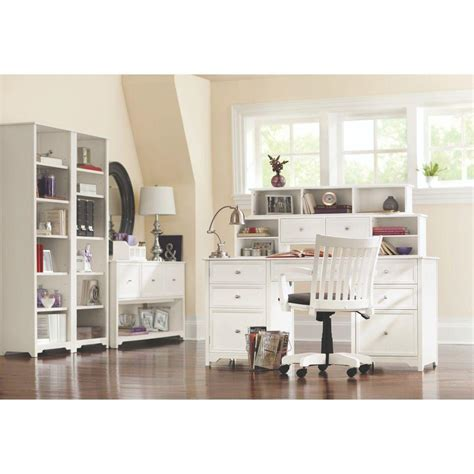 home depot decorator home decorators collection oxford white open bookcase