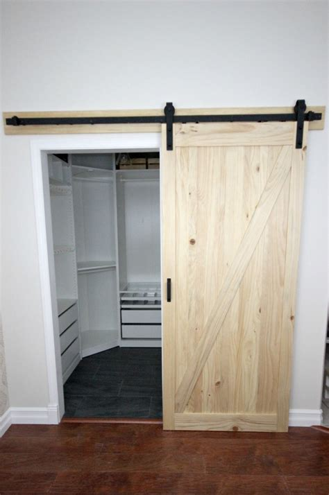 Installing A Sliding Closet Door by Installing A Sliding Barn Door In The Home Create Celebrate