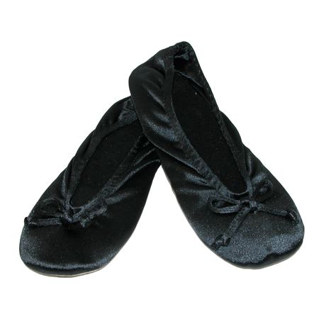 isotoner house shoes womens womens satin classic ballerina slippers by totes isotoner slippers slippers