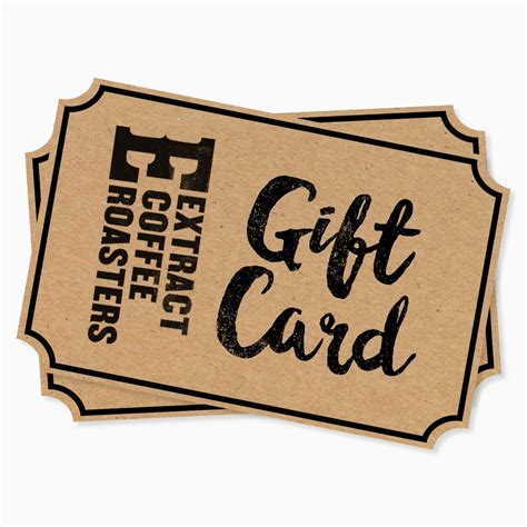 Roasters Coffee Gift Card - extract coffee 163 20 gift card coffee gift card