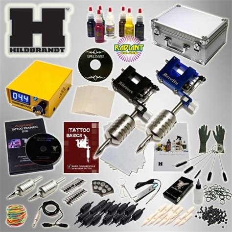 tattoo starter kit hildbrandt advanced rotary kit new kit
