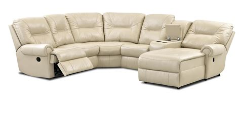 Traditional Sectional Sofa Traditional Reclining Sectional Sofa By Klaussner Wolf And Gardiner Wolf Furniture