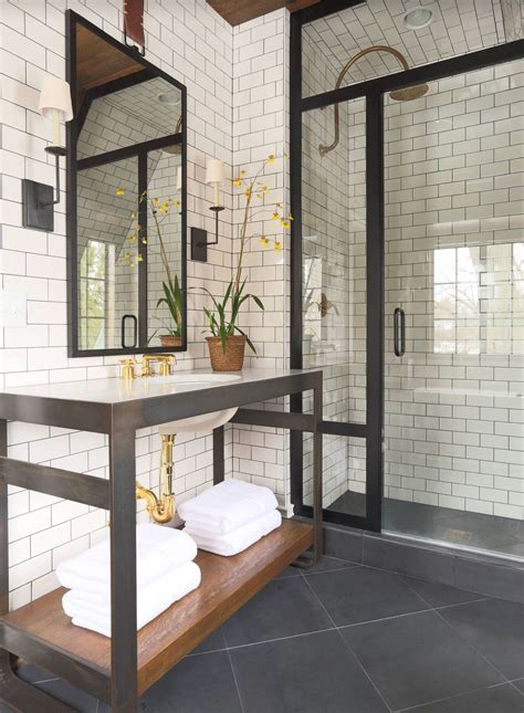 bathroom with subway tile gorgeous variations on laying subway tile