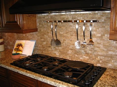 Rustic Kitchen Tile Backsplash Kitchens With Rustic Rustic Kitchen Backsplash