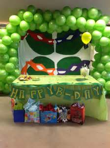 Ninja Turtle Birthday Decorations 17 Best Images About Ninja Turtle Party For Blake On