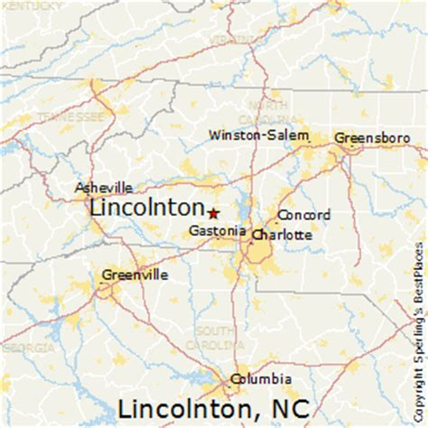 best places to live in lincolnton carolina