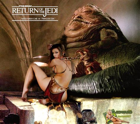 Nikky Case Princess Leia Slave Jabba The Hutt By C Edward On Deviantart