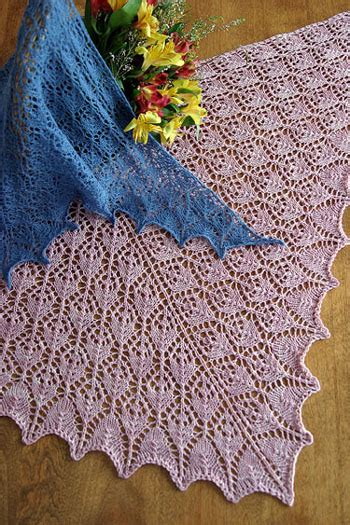 flower lace knitting pattern lace knitting patterns pacific wool and fiber