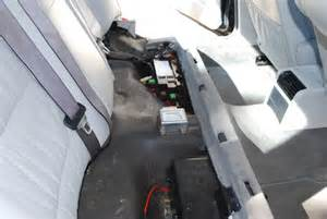 1995 bmw 525i car wont crank jump start back seat