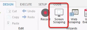 pattern web scraping how to scrape data using the screen scraping tool