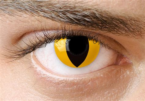 custom color contacts various types of yellow contacts