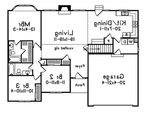 crandall cliff one story home plan 013d 0130 house plans 1 floor house plans with photos