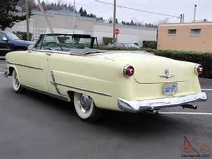 1953 Ford Convertible 1953 Ford Sunliner Convertible
