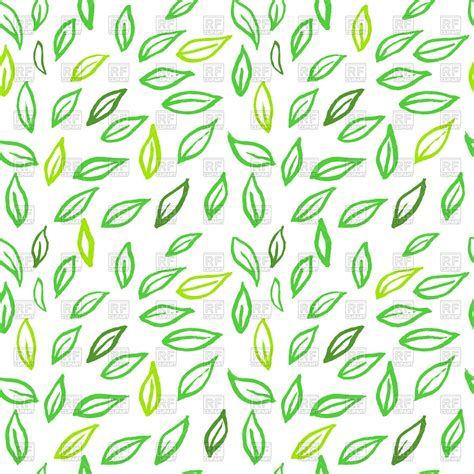 leaf pattern vector art seamless leaves pattern royalty free vector clip art image