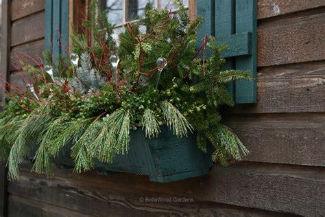 winter window box sixty fifth avenue winter window boxes