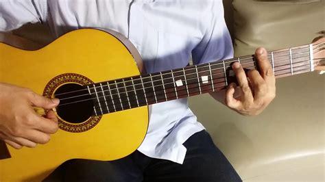 tutorial bermain gitar fingerstyle berkibarlah benderaku ibu sud lagu wajib nasional