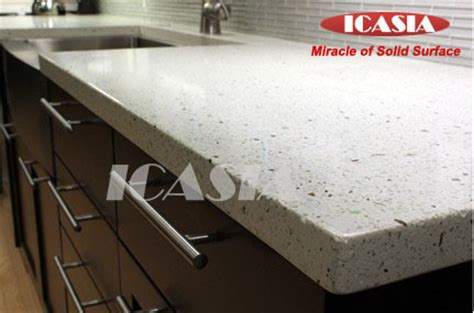 Solid Plastic Countertops China Composite Acrylic Solid Surface Sheet For Countertop